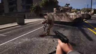 GTA 5 REDUX - 5 STAR POLICE GAMEPLAY