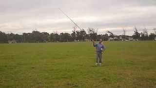Marcos Frade  - clase técnica lanzamiento péndulo - P1010834 - 18-05-2013 en P. Camet