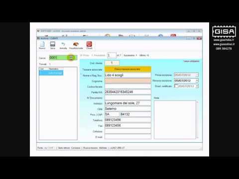 SOFTCARD - Ricercare una tessera ovale in archivio