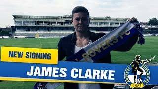 NEW SIGNING: James Clarke