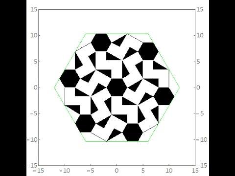 伊斯蘭的幾何拼貼 03A