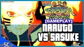 ●BIJUU NARUTO VS SASUKE!「Raw Gameplay #12」| NARUTO REVOLUTION●
