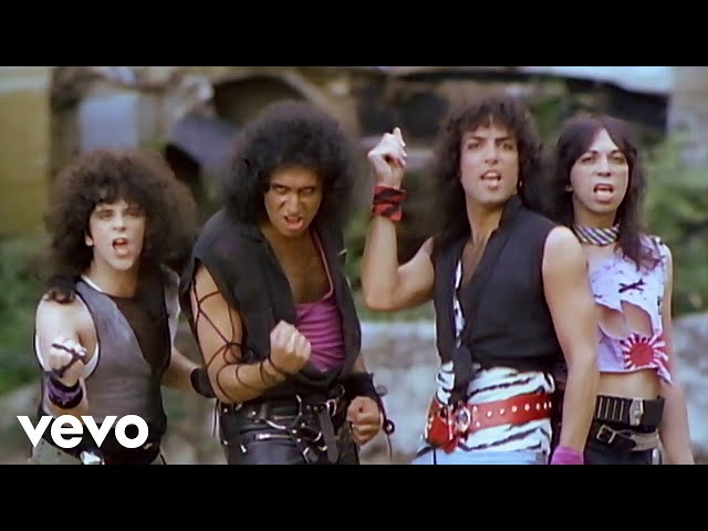 Video oficial de Lick it up de Kiss