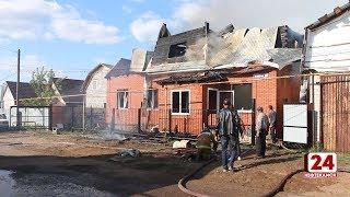 В Николо-Березовке сгорел жилой дом