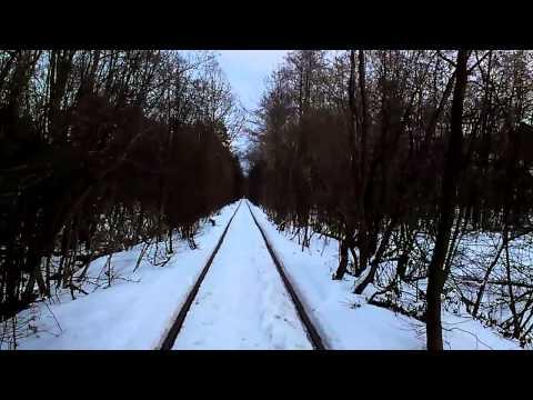 Тоннель любви / tunnel of love Ukraine 2013-02-16