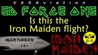 [FUNNY ATC] Iron Maiden ED FORCE ONE arriving LAUDERDALE @FLL!!