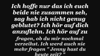 Bushido - Jenny - Lyrics on Screen.