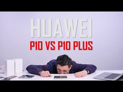 UNBOXING & REVIEW - Huawei P10 Plus vs P10