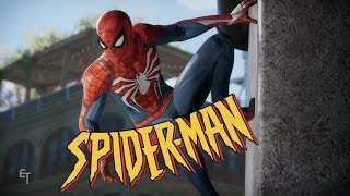 Spider-Man PS4 with 90s Animated Series Theme Song