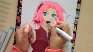 Sakura Haruno - Speedpaint
