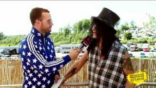 Slash - Interview - DASDING Rock am Ring 2010