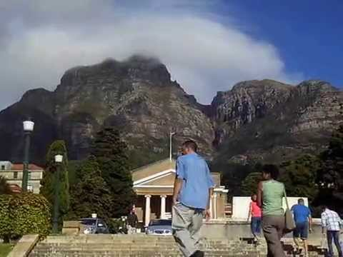 Trip in the University of Cape Town (UCT) /South Africa