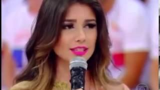 Paula Fernandes mostra Samba no Pé no Esquenta