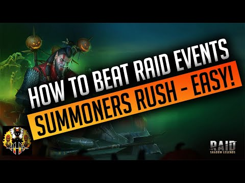 RAID: Shadow Legends | How to beat the Events in Raid Shadow Legends, Summoners Rush - EASY!