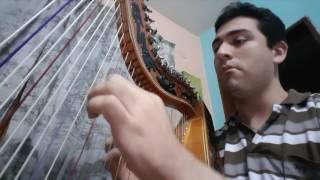 Cristian Javier- Mujer Amante- RATA BLANCA (COVER) Versión Acústica En Arpa Paraguaya
