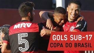Gols! Copa do Brasil Sub-17 | Flamengo 5x2 Santos