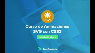 Introducción a las Animaciones SVG con CSS3 | PREVIEW