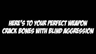 Black Veil Brides - Perfect Weapon - Vocal Track w/ lyrics