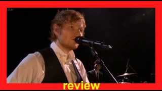 Ed Sheeran Thinking Out Loud Lyrics Karaoke Female key Cover boy Ellen Degeneres show review