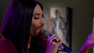 Conchita Wurst - You are unstoppable (Live) - Malou Efter tio (TV4)