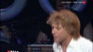 Bon Jovi - It's My Life - Live Earth - New Jersey