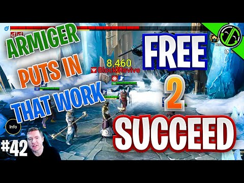 Running Our Safe Lil Ice Golem Team | Free 2 Succeed - EPISODE 42