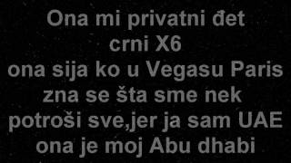 Cvija ft.MC YANKOO-Abu dhabi-LYRICS/TEKST