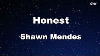 Honest - Shawn Mendes Karaoke 【With Guide Melody】 Instrumental