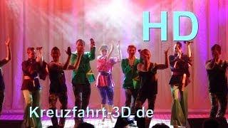 """AIDA Farewell-Poolshow """"Stars on 45"""" - Mittelmeer-Kreuzfahrt (Tag 7 mit AIDAmar) - HD / 2D"""