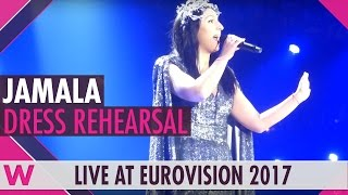 "Interval act: Jamala ""I Believe in U"" grand final dress rehearsal @ Eurovision 2017"