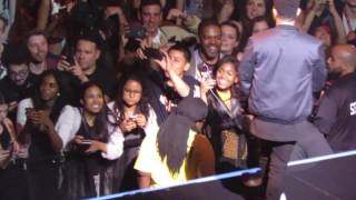 Beibs in the Trap w/ Travis Scott & NAV - The Weeknd @ The Prudential Center (6-4-17)