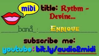 Ritmo Total ( Rhythm Divine) - Spanish - Enrique Iglesias (Sung By Me)