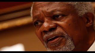 BREAKING NEWS: Kofi Annan, former UN Sec Gen, is dead width=