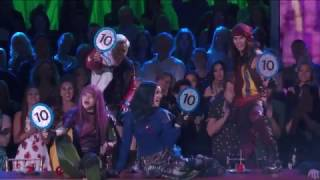 Descendentes 2! Performance do elenco no  Dancing with the Stars