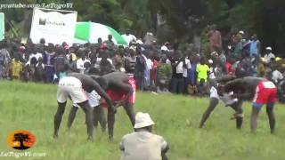 Evala 2014: Scènes de lutte traditionnelle lors de la finale de Yade-Bohou