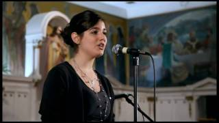 """Lagrimas de Nieve"": Isabella Mariani sings her original song"