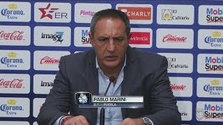 Pablo Marini señaló que tuvieron todo para vencer a Veracruz