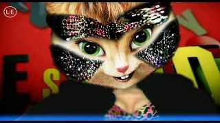Jessie J - Domino (Chipettes - Chipmunks) with Lyrics HD