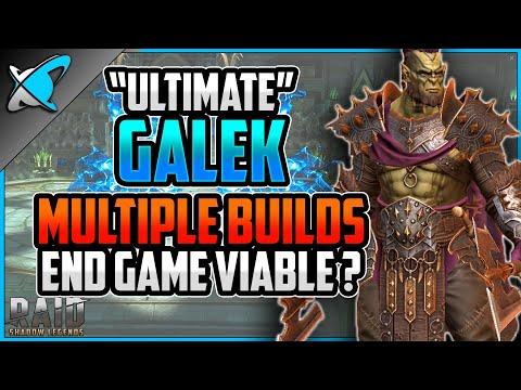 """MULTIPLE BUILDS"" Ultimate Galek Build, Guide & Masteries | End Game Viable ? | RAID: Shadow Legends"