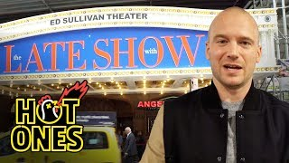 Sean Evans Goes to The Late Show With Stephen Colbert   Hot Ones Extras