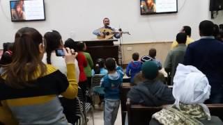 المرنم باسم ابراهيم ترنيمة اتشدد يا بطل كلمات ولحن باسم ابراهيم