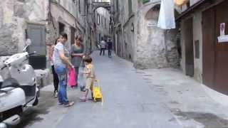 Ventimiglia - Ligurie Italy - Daily life in the old town