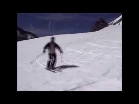 Урок № 6 Видео как научиться кататься на горных лыжах