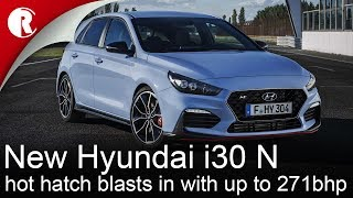 New Hyundai i30 N hot hatch blasts in with up to 271bhp