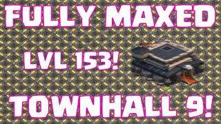 Clash Of Clans FULLY MAXED OUT Townhall 9 Base | Fully Upgraded TH9 Base Layout