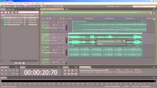 Make a mixdown in Audition CS6 / Audition CC