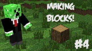 Minecraft Blender Tutorials: Episode 4 - Making Blocks :D
