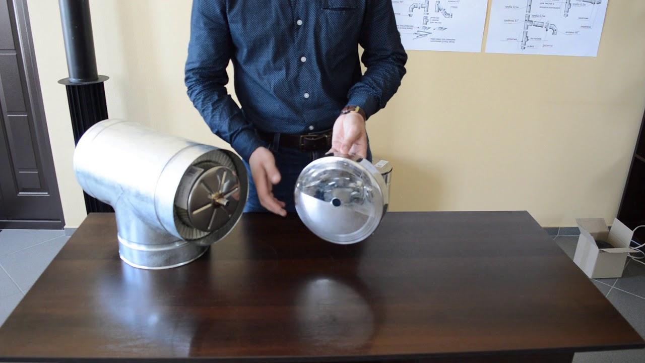 Дека дымоходная из нержавеющей стали Ø300 мм толщина 0,6 мм