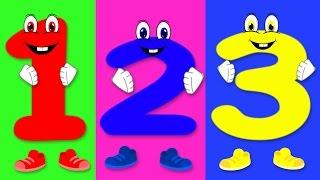 Number Song   Nursery Rhymes For Children   Preschool rhyme
