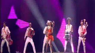 Eurovision 2012 - Mandinga - Zaleilah (live at final jury dress rehearsal)